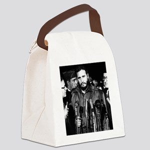 Fidel Castro 1959 Canvas Lunch Bag