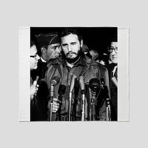 Fidel Castro 1959 Throw Blanket