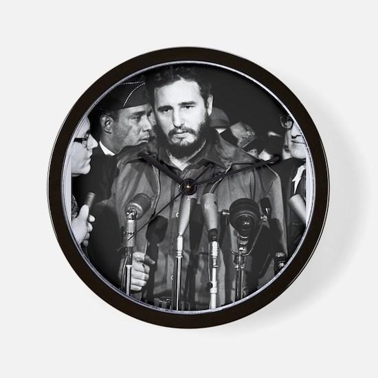 Fidel Castro 1959 Wall Clock
