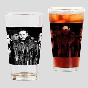 Fidel Castro 1959 Drinking Glass