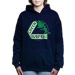 Green Surfers 10 Hooded Sweatshirt