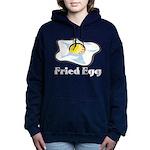 Fried Egg Women's Hooded Sweatshirt