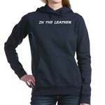 In the Leather Women's Hooded Sweatshirt