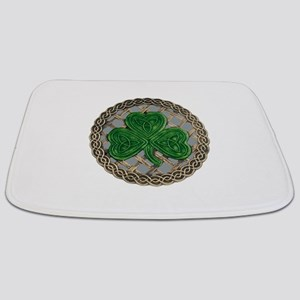 Shamrock And Celtic Knots Bathmat