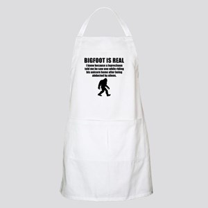 Bigfoot Is Real Apron