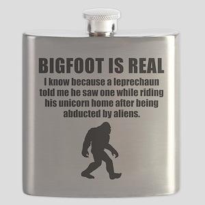 Bigfoot Is Real Flask