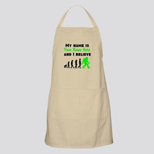 My Name Is And I Believe (Your Name) Apron