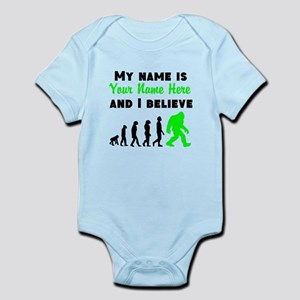My Name Is And I Believe (Your Name) Body Suit