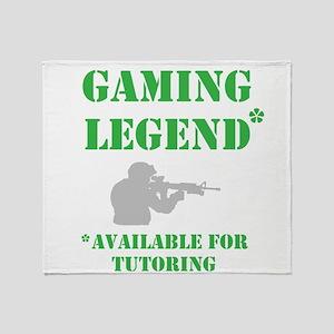 Gaming Legend Throw Blanket
