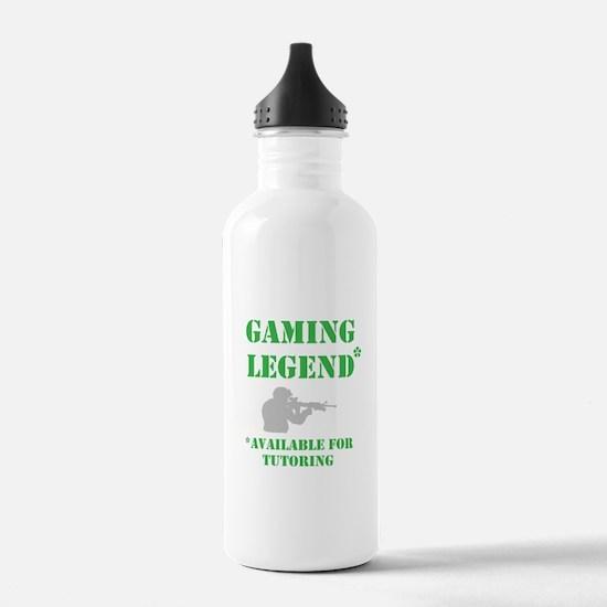 Gaming Legend Water Bottle