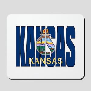 Kansas Flag Mousepad