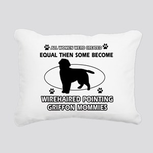 Wirehaired Pointing Griffonmommy designs Rectangul
