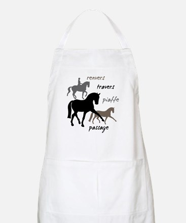 Dressage Movements Trio Apron