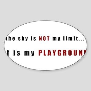 the sky is not-bumpersticker Sticker