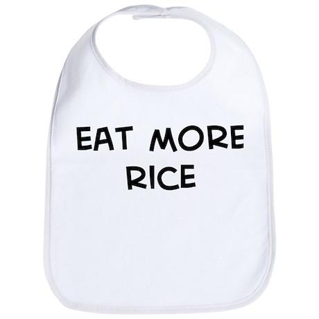 Eat more Rice Bib