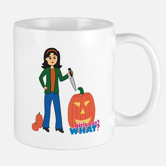 Pumpkin Carver Medium Mug