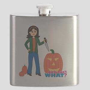 Pumpkin Carver Medium Flask