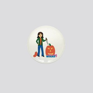 Pumpkin Carver Medium Mini Button