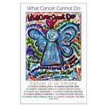Colorful Cancer Angel Large Poster