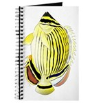 Oval Butterflyfish fish Journal