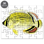 Oval Butterflyfish fish Puzzle