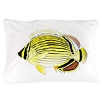 Oval Butterflyfish fish Pillow Case