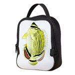 Oval Butterflyfish c Neoprene Lunch Bag