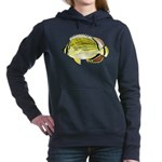 Oval Butterflyfish c Hooded Sweatshirt