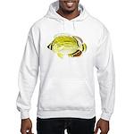Oval Butterflyfish c Hoodie