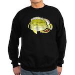 Oval Butterflyfish c Sweatshirt