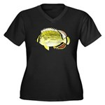 Oval Butterflyfish c Plus Size T-Shirt