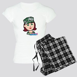 Marine Light/Red Head Women's Light Pajamas