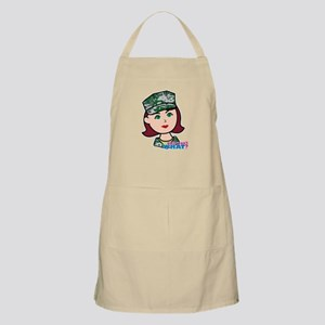 Marine Light/Red Head Apron