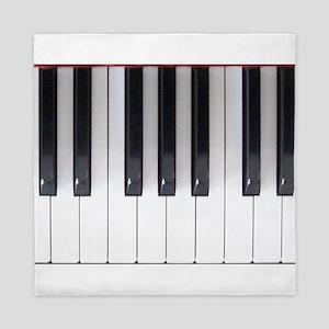 Piano Keys Design 2 Queen Duvet