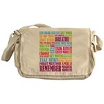 Remember Messenger Bag