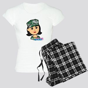 Marine Medium Head Women's Light Pajamas