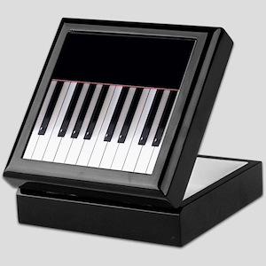 Piano Keys 5 Keepsake Box