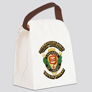 Army - 54th Artillery Group Canvas Lunch Bag