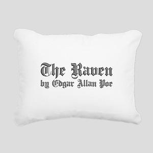 The Raven by Edgar Allan Poe - White Rectangular C
