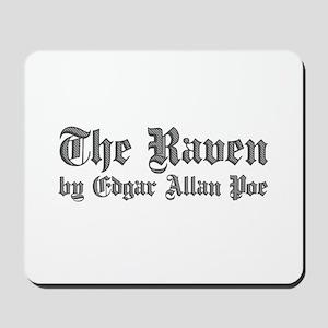 The Raven by Edgar Allan Poe - White Mousepad