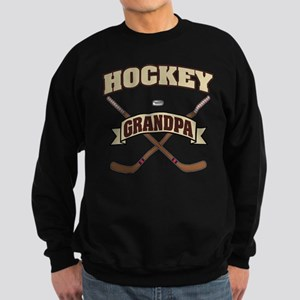 Hockey Grandpa Sweatshirt (dark)