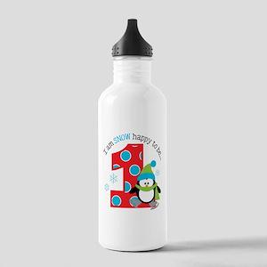 Penguin 1st Birthday Stainless Water Bottle 1.0L