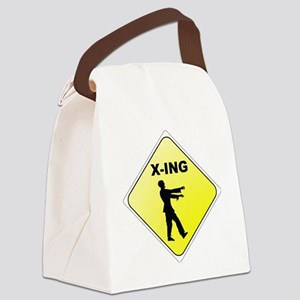 Zombie X-ING Canvas Lunch Bag