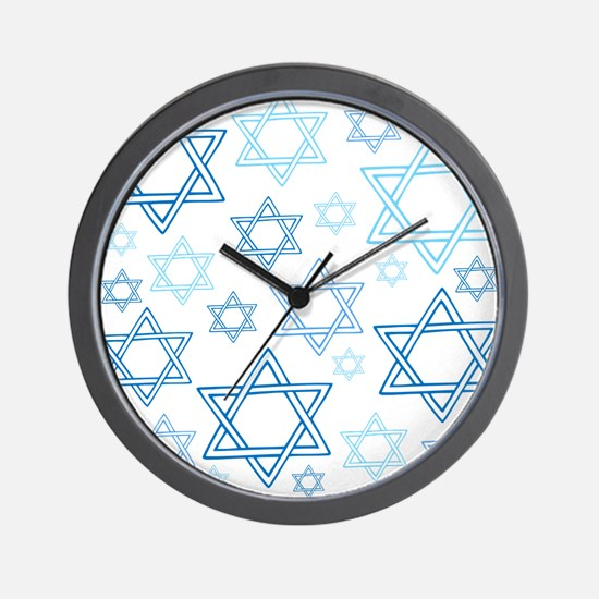 Star of David Wall Clock