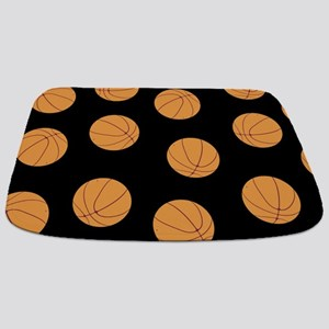 Basketball Pattern Bathmat