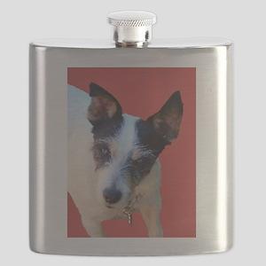SPUNKY TERRIER Flask