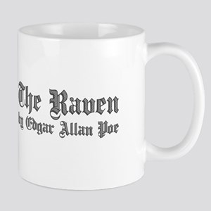 The Raven by Edgar Allan Poe - White Mugs