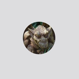 Photo of Gargoyle Statue Mini Button