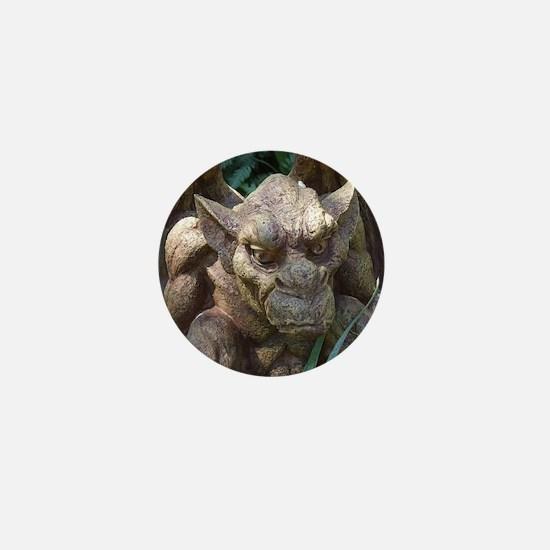 Photo of Gargoyle Statue Mini Button