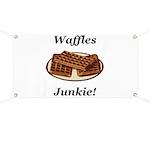 Waffles Junkie Banner
